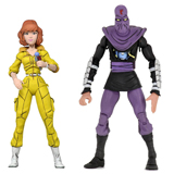 TMNT ACTION FIGURE 2-PACK APRIL O'NEIL AND FOOT SOLDIER
