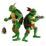 TMNT ACTION FIGURE 2-PACK RAPHAEL AND MICHELANGELO