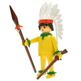 PLAYMOBIL NOSTALGIA COLLECTION INDIAN CHIEF
