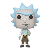 POP! ANIMATION RICK AND MORTY RICK W/ PORTAL GUN 10-INCH