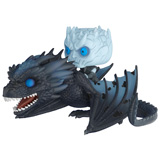 POP! RIDES GAME OF THRONES NIGHT KING AND ICY VISERION GID