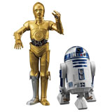 SEGA PREMIUM FIGURE STAR WARS R2-D2 AND C-3PO SET