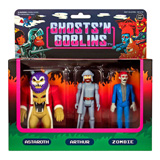 REACTION FIGURES GHOSTS 'N GOBLINS 3-PACK A